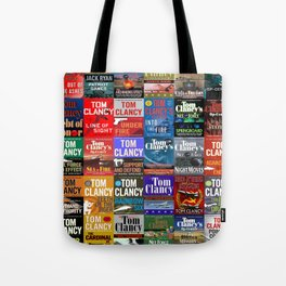 Tom Clancy Books Tote Bag