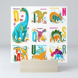 Alphasaurus Rex Mini Art Print