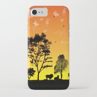 safari iPhone & iPod Cases featuring Safari by Kaitlynn Marie