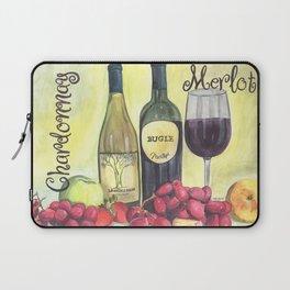 Watercolor Wine Laptop Sleeve