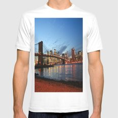 I Want To Be A Part Of It... MEDIUM White Mens Fitted Tee
