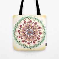 mandala Tote Bags featuring Mandala  by famenxt