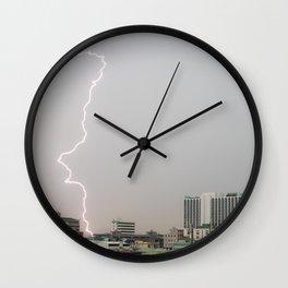 Bangkok Lightning #1 Wall Clock