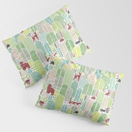 Welcome to the forest! Pillow Sham