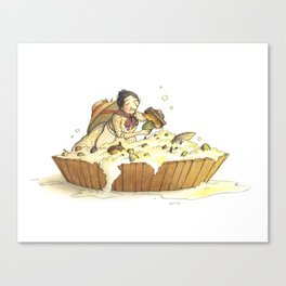 Seed Bath Canvas Print