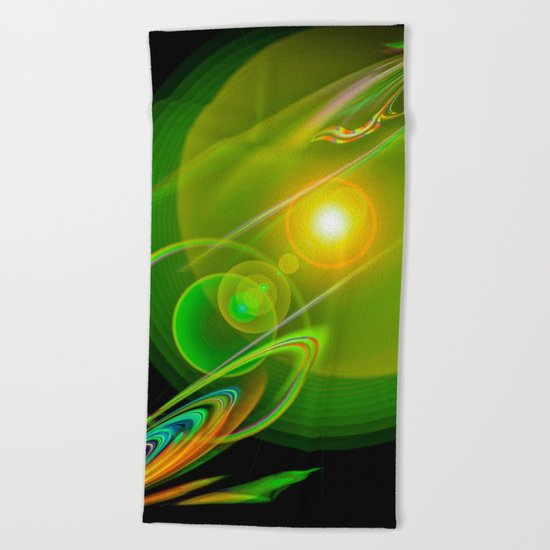 Abstract Perfection 58 Beach Towel