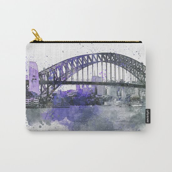 Sydney Harbor Bridge II Carry-All Pouch