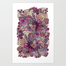 Vernal rising Art Print