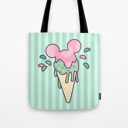 Mickey Icecream Splash Tote Bag