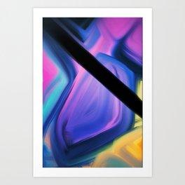Galaktika de Ventagia Art Print