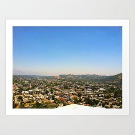 Highland Park, Los Angeles, California Art Print