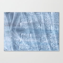 Light steel blue watercolor Canvas Print