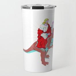 Meme Shirt Ground-Shaker Dinosaur Tee Travel Mug