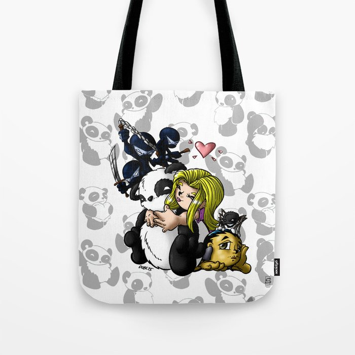 Panda Days Collection Cover Piece Tote Bag