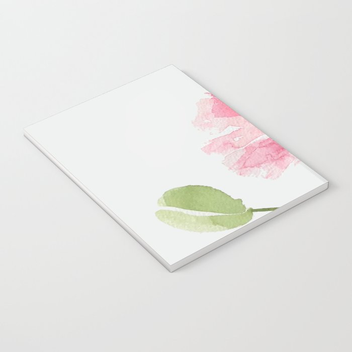 Pink Poppies Notebook