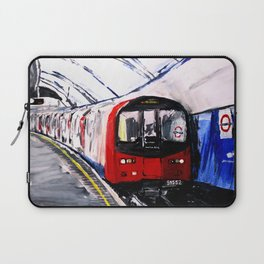 London Underground Northern Line Fine Art Laptop Sleeve