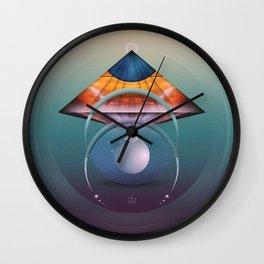 ∆ andromedan eclipse Wall Clock