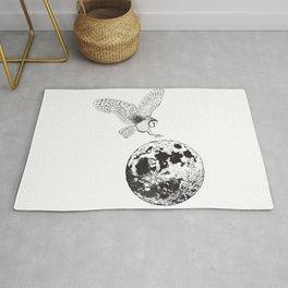 Owl Moon Rug