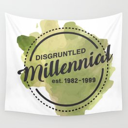 Disgruntled Millennial Pride Wall Tapestry
