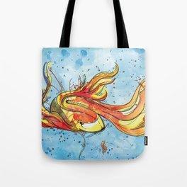 Golden Fish Tote Bag