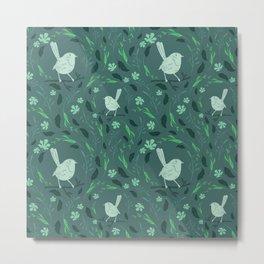 Bird Pattern #6 Metal Print