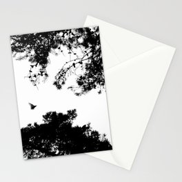 freedom to fly up to sky Stationery Cards