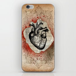 Corazón Sangriento iPhone Skin