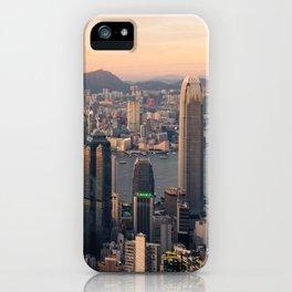 HONG KONG 08 iPhone Case