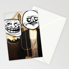 Modern Icons  |  American Troll Gothic Stationery Cards