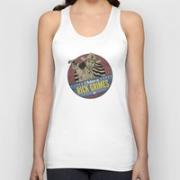 rick grimes Tank Tops featuring I Believe in Rick Grimes by HuckBlade
