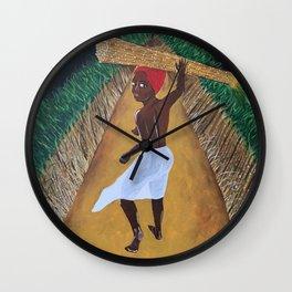 Sugarcane Wall Clock