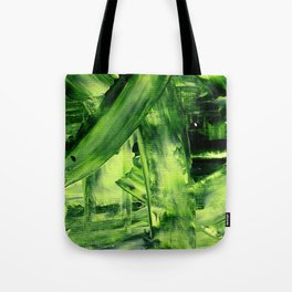 Green Mess Tote Bag