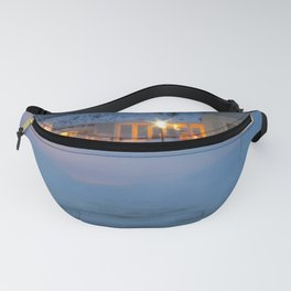 Yellowstone Snowy Morning Fanny Pack