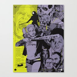 Suicide Squad alternative movie poster Canvas Print