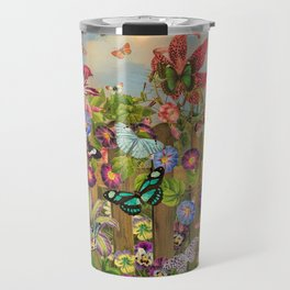 Butterfly Garden Travel Mug