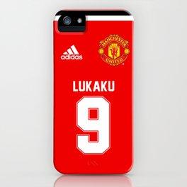 Lukaku Edition - Manchester United 2017/18 iPhone Case