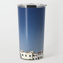 Spanish Island Village Travel Mug