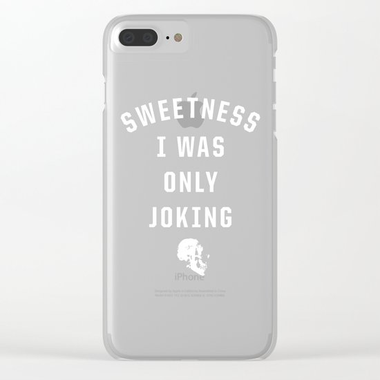 Sweetness Clear iPhone Case