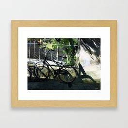 Kilkenny Bike Framed Art Print