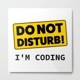 I am coding Metal Print