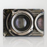 photographer iPad Cases featuring photographer by Da Axw