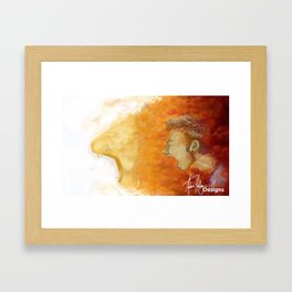 Boldness Enhanced Framed Art Print