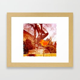 Them Stems Framed Art Print