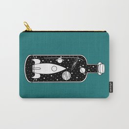 Space Ship in a Bottle Carry-All Pouch