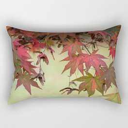 Maple Leaves Rectangular Pillow