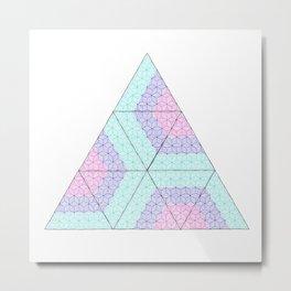 Zen triangles I Metal Print
