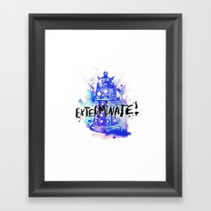 Doctor Who Dalek Framed Art Print