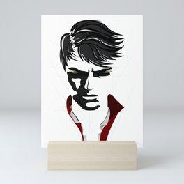 Just Think Mini Art Print