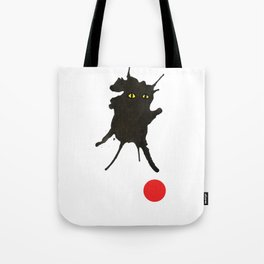 cat with ball #2 Tote Bag