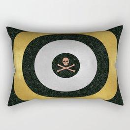 Precious Metal Target Rectangular Pillow